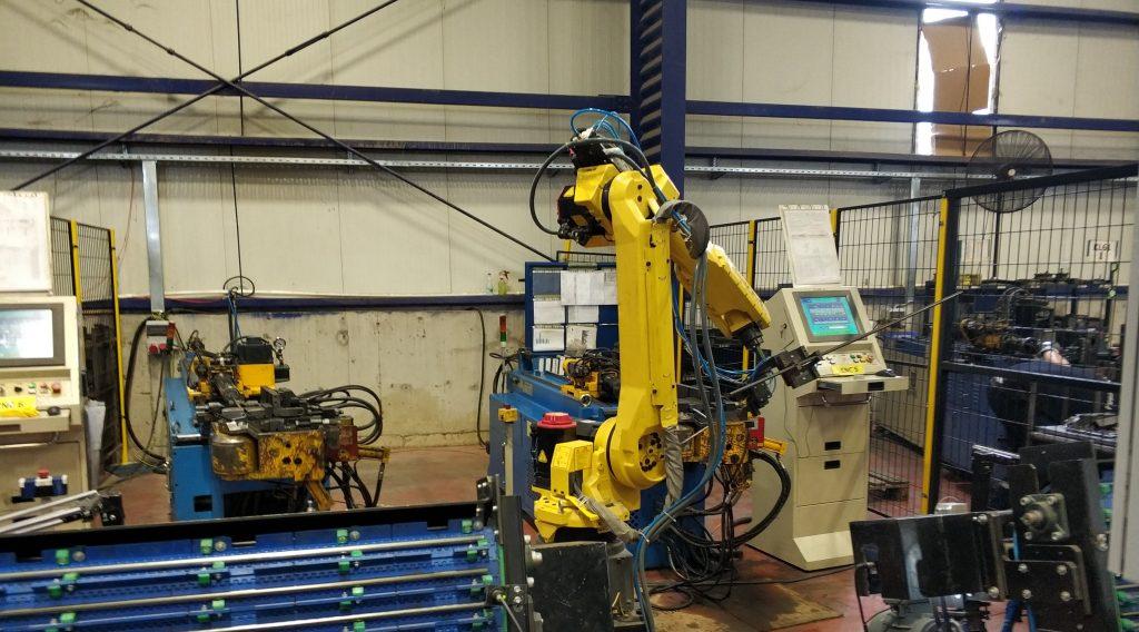 Boru Bükme Makinesi Robotik Besleme